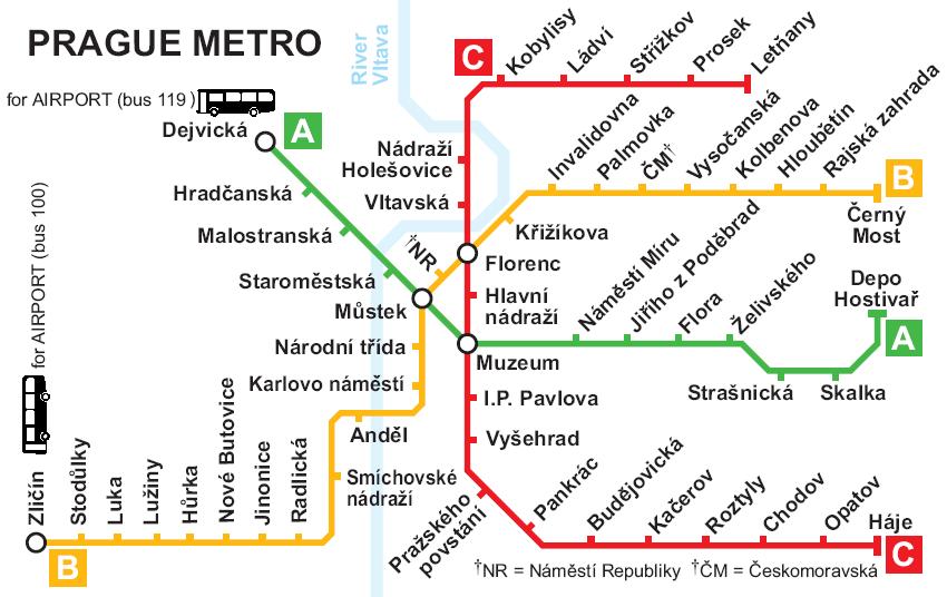 Карта Пражского